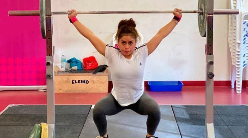 Levantamiento de pesas volvió a los entrenamientos luego de 107 días