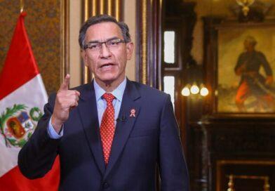 Presidente Vizcarra anuncia que referéndum se hará junto a las elecciones generales del 2021
