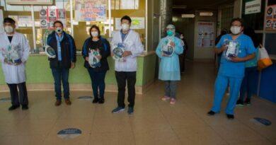 Meditech realiza donación de máscaras snorkel covid-19 al hospital Honorio Delgado Espinoza