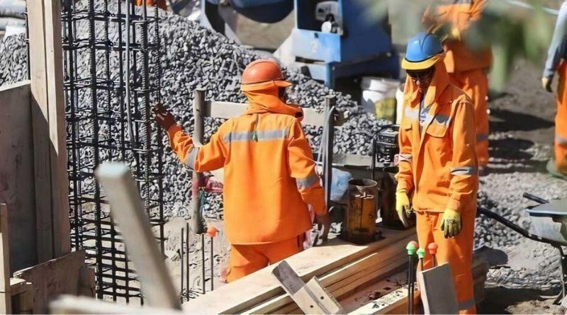 Sector construcción alcanza el 60% en reinicio