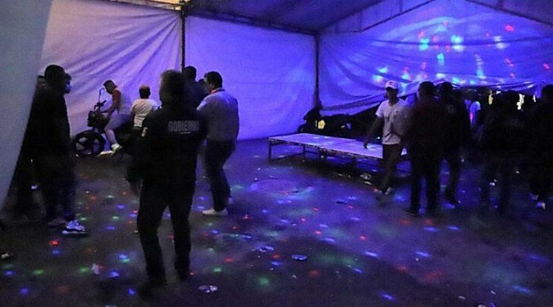 Intervenidos en fiestas estaban en tratamiento por COVID