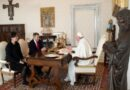 La audiencia del Papa con el presidente de la Cruz Roja Internacional