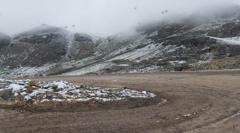 El SENAMHI anuncia precipitaciones en la sierra media y alta de Arequipa