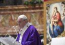 El Papa: Ven, Señor Jesús, despiértanos de la indiferencia y mediocridad