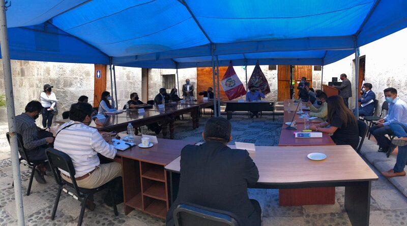Aprueban comisiones de trabajo del Consejo Regional de Arequipa para el año 2021