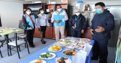 Inauguran el Centro de Promoción y Vigilancia Nutricional en Cayma