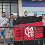 100 hinchas del Flamengo cruzan frontera para asistir a final de la Copa Libertadores