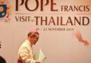 El Papa en Tailandia, diálogo fructífero entre católicos y budistas