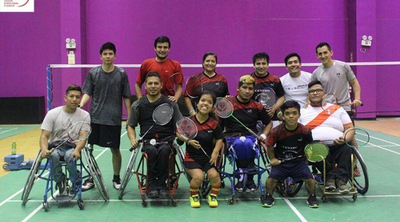 Selección peruana de parabádminton a sudamericano en Ecuador