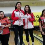 Medallas de oro y plata para el bowling peruano en Qatar