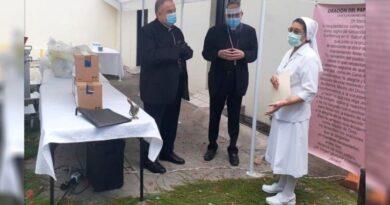 Honduras. Entregado el equipo de bioseguridad donado por el Papa