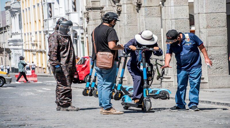 El provincial promociona el uso de vehículos menores ecoamigables