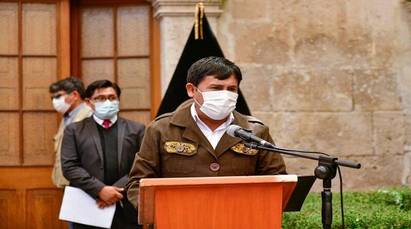 Gobernador regional pidió disculpas a magistrado por agravios