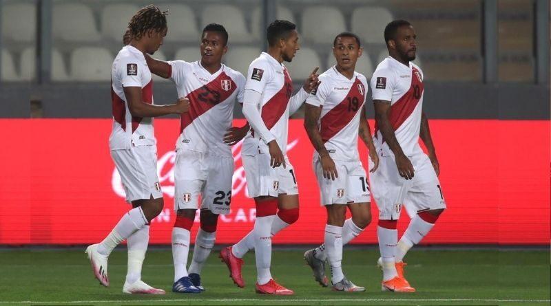 Selección peruana descendio en ranking de la FIFA