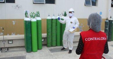 Contraloría exhorta atender demanda de oxígeno para enfrentar la COVID-19