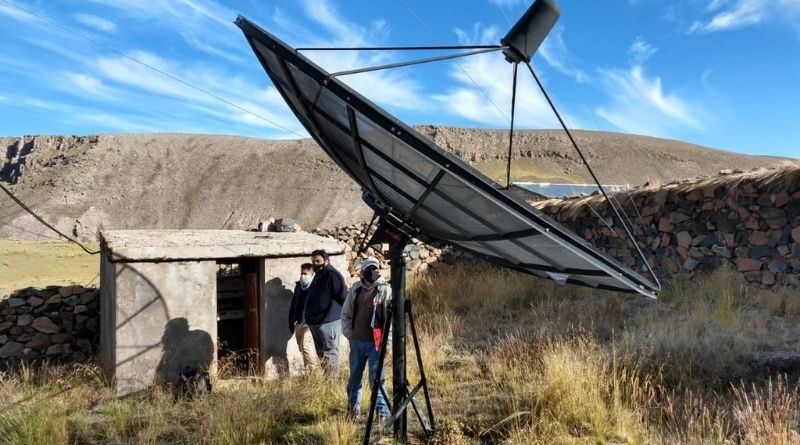 Más antenas operativas en las provincias de La Unión y Condesuyos