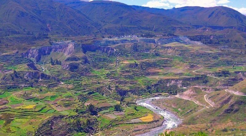 Inician construcción de minirepresa y canales Fausa Shigua Shigua en Achoma