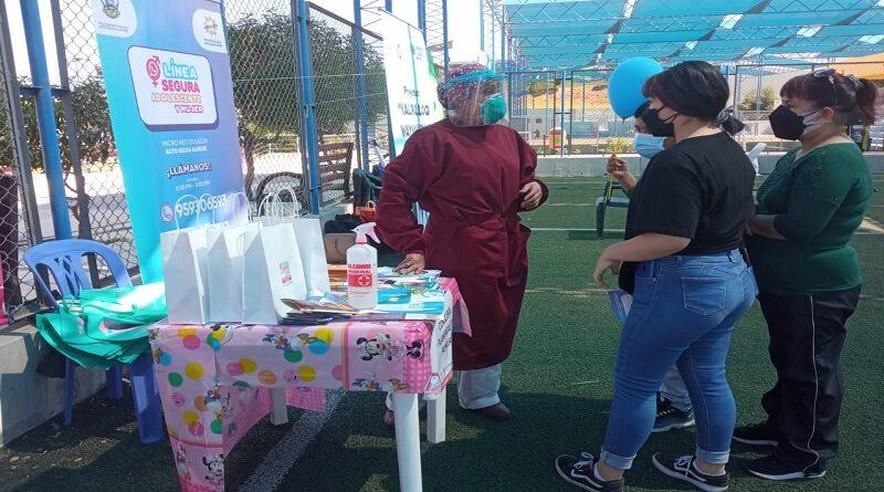 Salud realiza actividades en la semana de prevención del embarazo en adolescentes