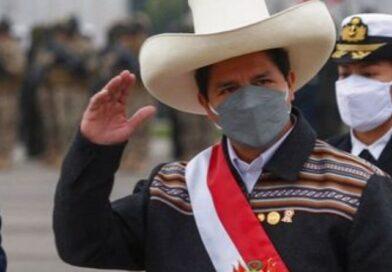 Presidente  Castillo llega a sede de la ONU
